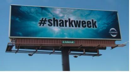 #SharkWeek #OOH