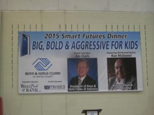 Boys and Girls Club Banner