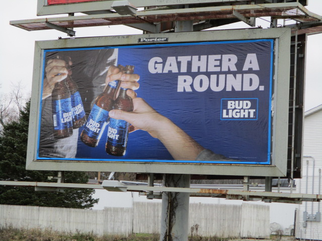 Bud Light billboard